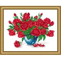 """Набор для вышивания Русский фаворит ЦВ-013 """"Розы для любимой"""""""