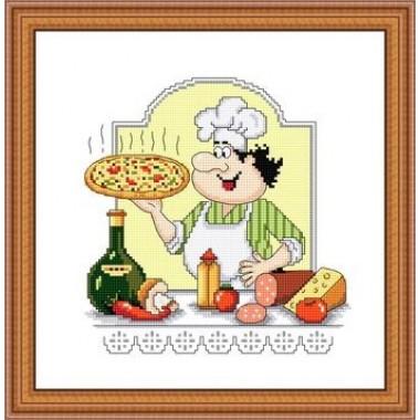 """Набор для вышивания Русский фаворит КТ-014 """"Жар - Пицца"""""""