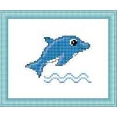 """Набор для вышивания Русский фаворит М-031 """"Дельфин"""""""