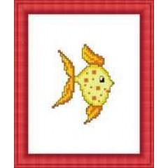 """Набор для вышивания Русский фаворит М-042 """"Золотая рыбка"""""""