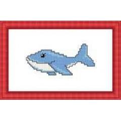 """Набор для вышивания Русский фаворит М-068 """"Голубой кит"""""""