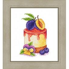 Набор для вышивания Русский фаворит ВИ-046 Десерт с черносливом