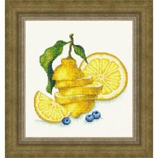 """Набор для вышивания Русский фаворит ВИ-023 """"Сочный лимон"""""""