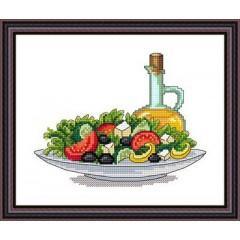 """Набор для вышивания Русский фаворит ВИ-002 """"Греческий салат"""""""