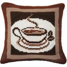 """Набор для вышивки крестом Чарівна Мить РТ-184 """"Ароматный кофе"""""""