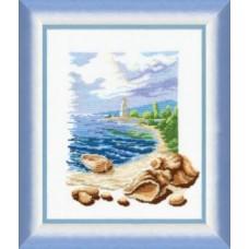"Набор для вышивки крестом Чарівна Мить 211 ""Триптих У моря """