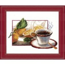 """Набор для вышивки крестом Чарівна Мить 285 """"Чашка кофе"""""""
