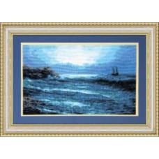 "Набор для вышивки крестом Чарівна Мить 380 ""Синее море"""