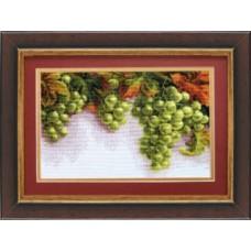 """Набор для вышивки крестом Чарівна Мить 445 """"Грозди винограда"""""""