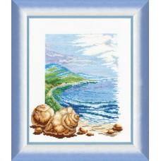 """Набор для вышивки крестом Чарівна Мить 209 """"Вилла у моря"""""""