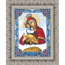 """Набор для вышивки крестом Чарівна Мить 325 """"Икона Пресвятой Богородицы Почаевской"""""""