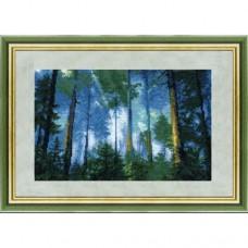 """Набор для вышивки крестом Чарівна Мить 334 """"Сосновый лес"""""""