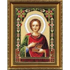 """Набор для вышивки крестом Чарівна Мить 336 """"Икона Великомученика Пантелеймона"""""""