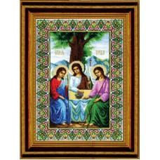 """Набор для вышивки крестом Чарівна Мить 344 """"Икона Пресвятой Троицы"""""""