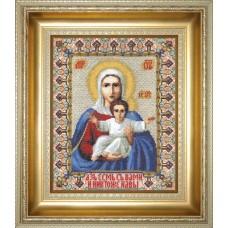 """Набор для вышивки крестом Чарівна Мить 364 """"Икона Божьей Матери Аз есмь с вами и никтоже на вы"""""""