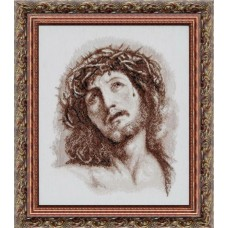 """Набор для вышивки крестом Чарівна Мить 417 """"Господь в терновом венце"""""""