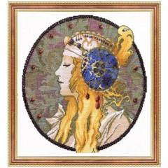 """Набор для вышивки крестом Чарівна Мить 432 """"Осень"""""""