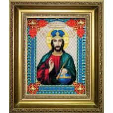 """Набор для вышивки крестом Чарівна Мить 467 Икона """"Господа Иисуса Христа"""""""