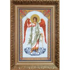 """Набор для вышивки крестом Чарівна Мить 482 """"Икона Ангел Хранитель"""""""