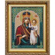 """Набор для вышивки крестом Чарівна Мить 523 """"Образ Пресвятой Богородицы Призри на смирение"""""""