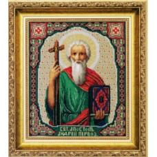 """Набор для вышивки крестом Чарівна Мить 524 """"Икона Святой Апостол Андрей Первозванный"""""""