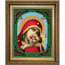 """Набор для вышивки крестом Чарівна Мить А-099 """"Икона Образ Пресвятой Богородицы Касперовской"""""""
