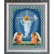"""Набор для вышивки крестом Чарівна Мить А-100 """"Икона Воскрешение Христово"""""""