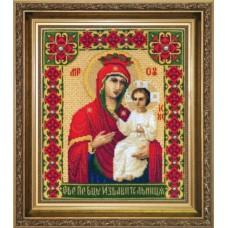 """Набор для вышивки крестом Чарівна Мить А-102 """"Икона Образ Пресвятой Богородицы Избавительница"""""""