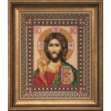 """Набор для вышивки бисером Чарівна Мить Б-069 """"Икона Господа Иисуса Христа"""""""