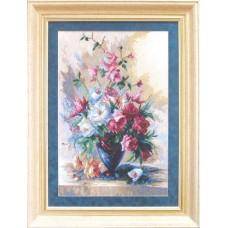 """Набор для вышивки крестом Чарівна Мить А-127 """"Букет прекрасных роз"""""""