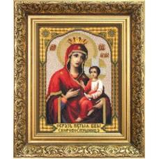 """Набор для вышивки крестом Чарівна Мить 473 """"Икона Божьей Матери Скоропослушница"""""""