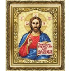 """Набор для вышивки крестом Чарівна Мить 254 """"Икона Господа Иисуса Христа"""""""