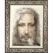 """Набор для вышивки крестом Чарівна Мить М-202 """"Священная реликвия христиан Туринская плащаница правдивый образ Господа Нашего Иисуса Христа"""""""