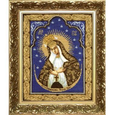 """Набор для вышивки крестом Чарівна Мить 399 """"Остробрамская Богородица"""""""