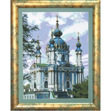 """Набор для вышивки крестом Чарівна Мить 584 """"Собор"""""""