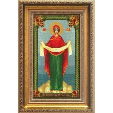 """Набор для вышивки крестом Чарівна Мить А-101 """"Образ Пресвятой Богородицы Покрова"""""""