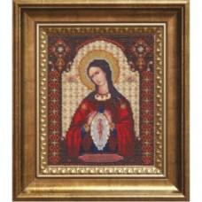 """Набор для вышивки бисером Чарівна Мить Б-1096 """"Икона Божьей Матери Помощница в родах"""""""