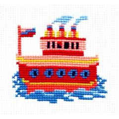"""Набор для вышивки Чудесная игла 10-17 """"Кораблик"""""""