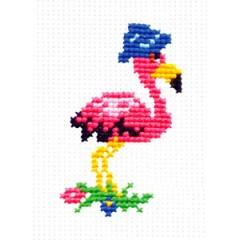 """Набор для вышивки Чудесная игла 10-18 """"Фламинго"""""""