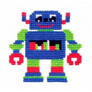 """Набор для вышивки Чудесная игла 10-22 """"Робот"""""""