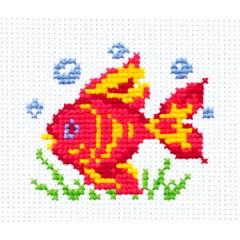 """Набор для вышивки Чудесная игла 10-25 """"Волшебная рыбка"""""""