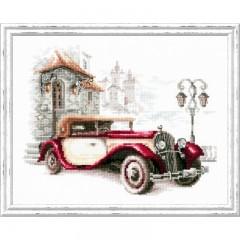 Набор для вышивки крестом Чудесная игла 110-022 Ретро-автомобиль. Кадиллак