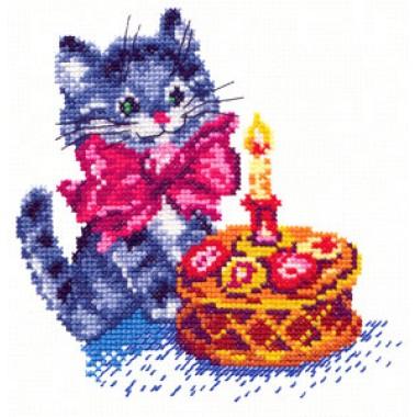 """Набор для вышивки Чудесная игла 13-08 """"День рождения"""""""