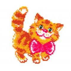 """Набор для вышивки Чудесная игла 15-07 """"Котик"""""""