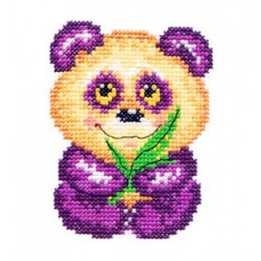 """Набор для вышивки Чудесная игла 17-04 """"Панда"""""""