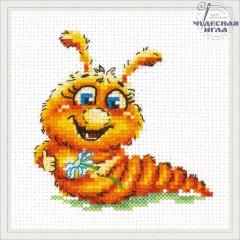 Набор для вышивки Чудесная игла 18-70 Буду бабочкой!
