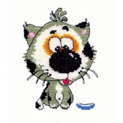"""Набор для вышивки Чудесная игла 26-08 """"Мяу"""""""