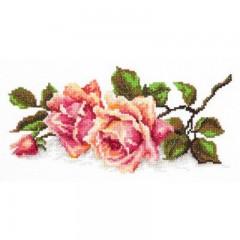 """Набор для вышивки Чудесная игла 40-48 """"Аромат розы"""""""