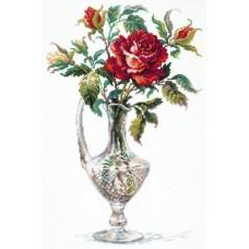 """Набор для вышивки Чудесная игла 40-65 """"Красная роза"""""""