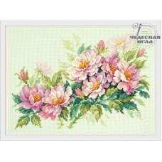 Набор для вышивания Чудесная игла 40-74 Розовый шиповник